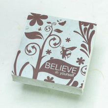 Load image into Gallery viewer, Inspirational POOPOOPAPER - Believe - Set of 3 Scratch Pads