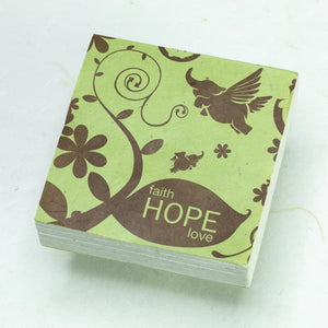 Inspirational POOPOOPAPER - Hope - Set of 3 Scratch Pads - Front