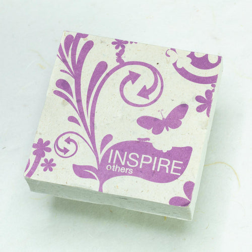 Eco-Friendly, Tree-Free, Inspirational Scratch Pads by POOPOOPAPER - Inspire Others