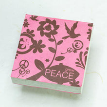 Load image into Gallery viewer, Inspirational POOPOOPAPER - Peace - Journal and Scratch Pad Set