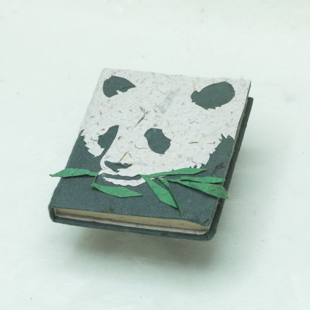 Mini-Journal Panda Face Set of 3