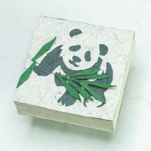 Load image into Gallery viewer, Panda POOPOOPAPER - Panda Baby Scratch Pad - Front