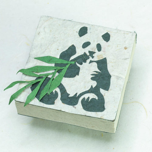 Panda POOPOOPAPER - Panda Sitting Scratch Pad (Set of 3) - Front