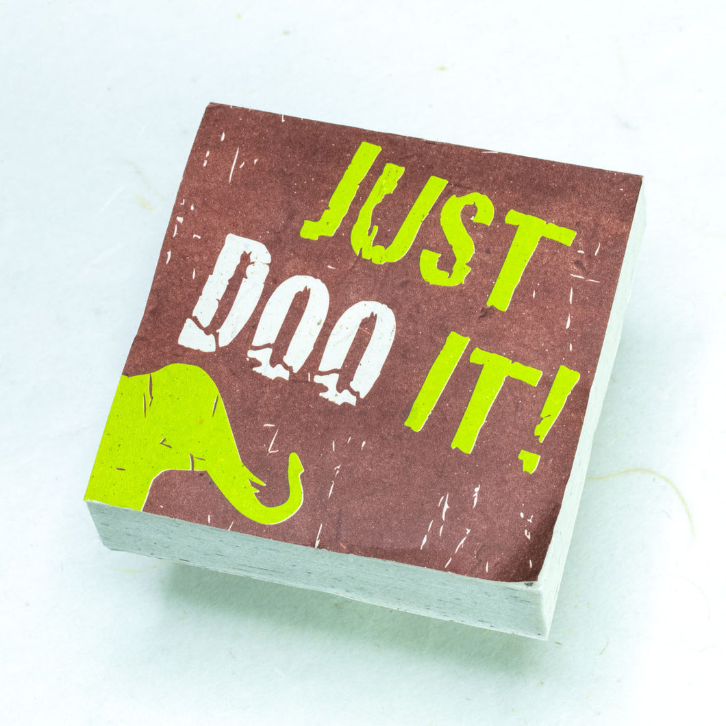 Eco-Scratch Pad - Elephant POOPOOPAPER -