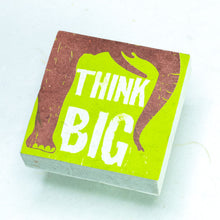 "Load image into Gallery viewer, Eco-Scratch Pad Elephant - ""THINK BIG"" (Set of 3)"