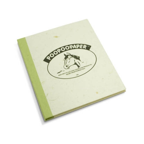 Journal - Horse POOPOOPAPER Logo Grass