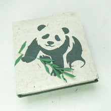 Load image into Gallery viewer, Eco-Friendly, Tree-Free POOPOOPAPER - Journal Baby Panda