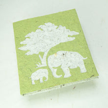 Load image into Gallery viewer, Eco-Friendly, Tree-Free, Classic Elephant POOPOOPAPER - Mom & Baby Journal - Grass - Front