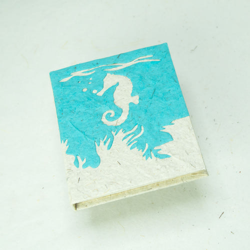 Sea-Life - Seahorse - Mini Journal - Set of 3