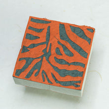 Load image into Gallery viewer, Eco-Friendly, Tree-Free POOPOOPAPER - Jungle Safari - Tiger Scratch Pad  - Set of 3 - Front