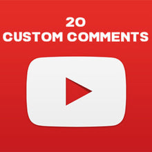 Load image into Gallery viewer, Youtube Custom Comments