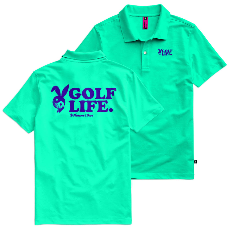 Golf Life Newport  Days Tour Cut Polo Sport