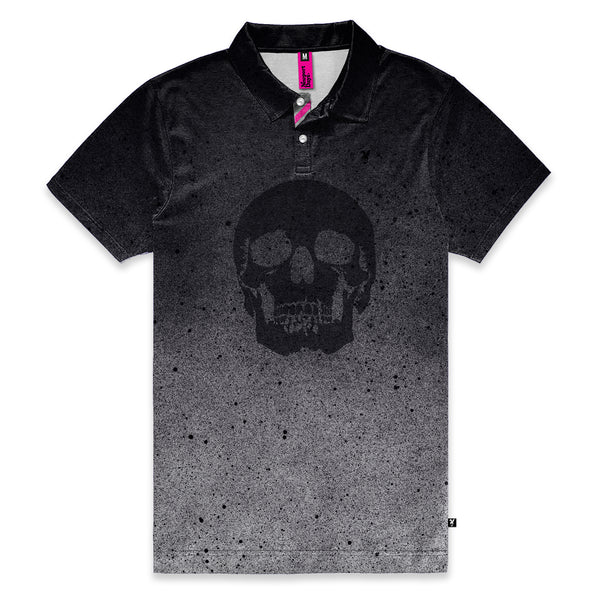 Skull Aerosol Newport Days Tour Cut Polo Sport