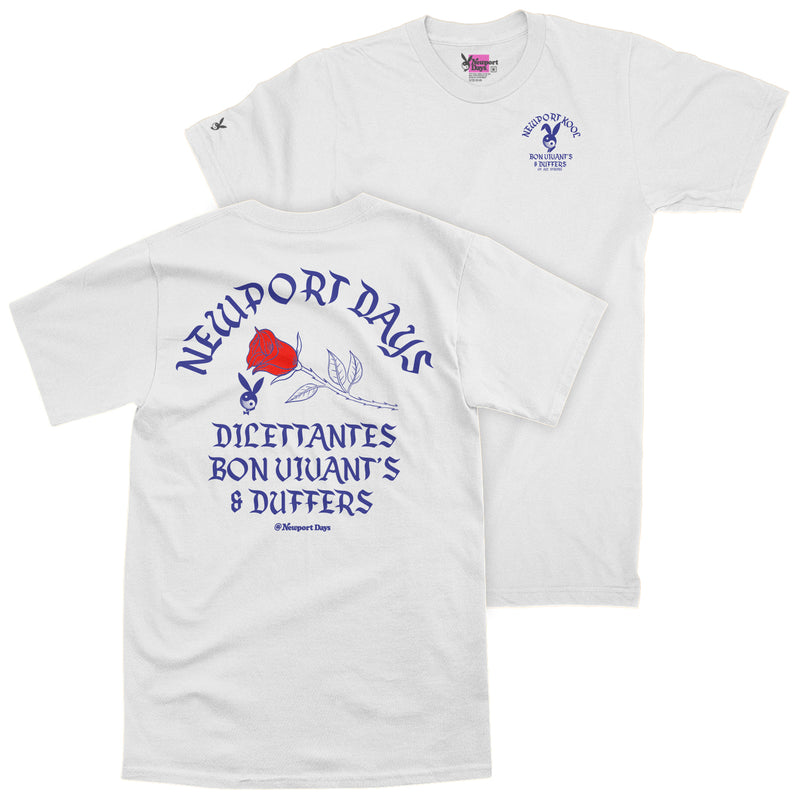 Dilettantes Bon Vivants & Duffers Premium Course-Cut Cotton T-Shirt