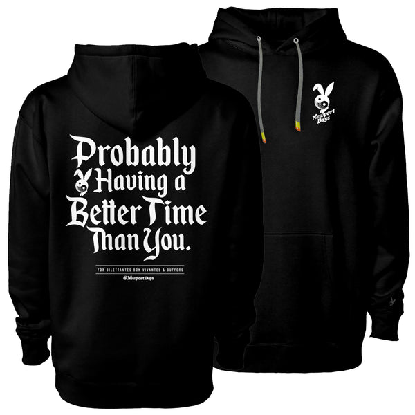 Better Time Dawn Patrol Heavyweight Premium Hooded Sweatshirt