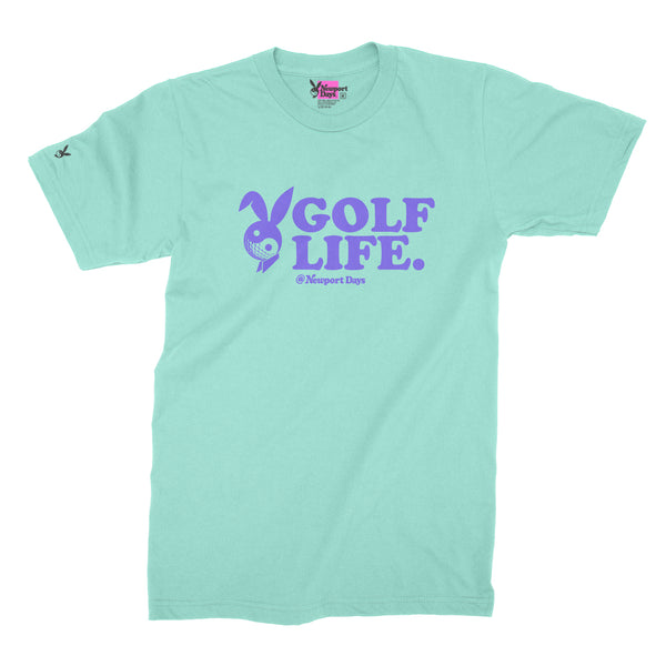 GOLF LIFE! Premium Course-Cut Cotton T-Shirt