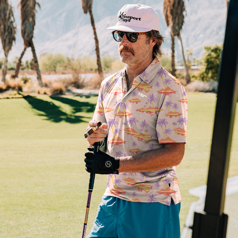 Space Hawaii Newport  Days Tour Cut Polo Sport