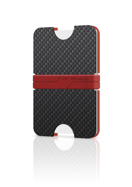 Sphere wallet [CARBON RED]