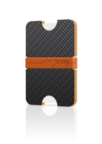 Sphere wallet [CARBON ORANGE]
