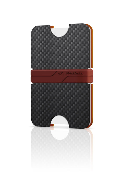 Sphere wallet [CARBON COPPER]