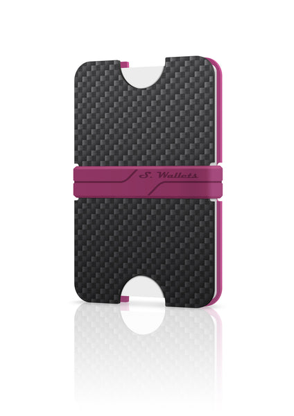Sphere wallet [CARBON PINK]