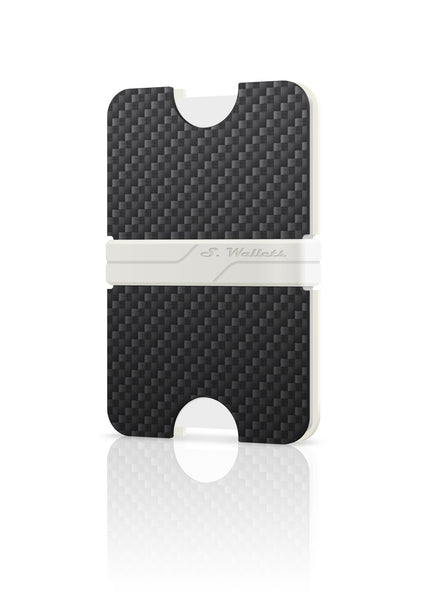 Sphere wallet [CARBON WHITE]