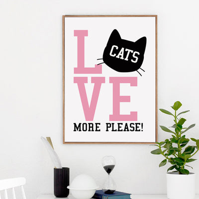 Tableau Chat Original - Maison du Chat