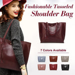 Load image into Gallery viewer, Fashionable Tasseled Shoulder Bag