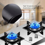 Load image into Gallery viewer, Reusable Silicone Gas Hob Range Protectors
