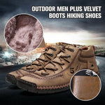 Load image into Gallery viewer, Outdoor Men Plus Velvet Boots Hiking Shoes