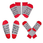 Load image into Gallery viewer, If You Can Read This Funny Saying Socks, 2 Pairs