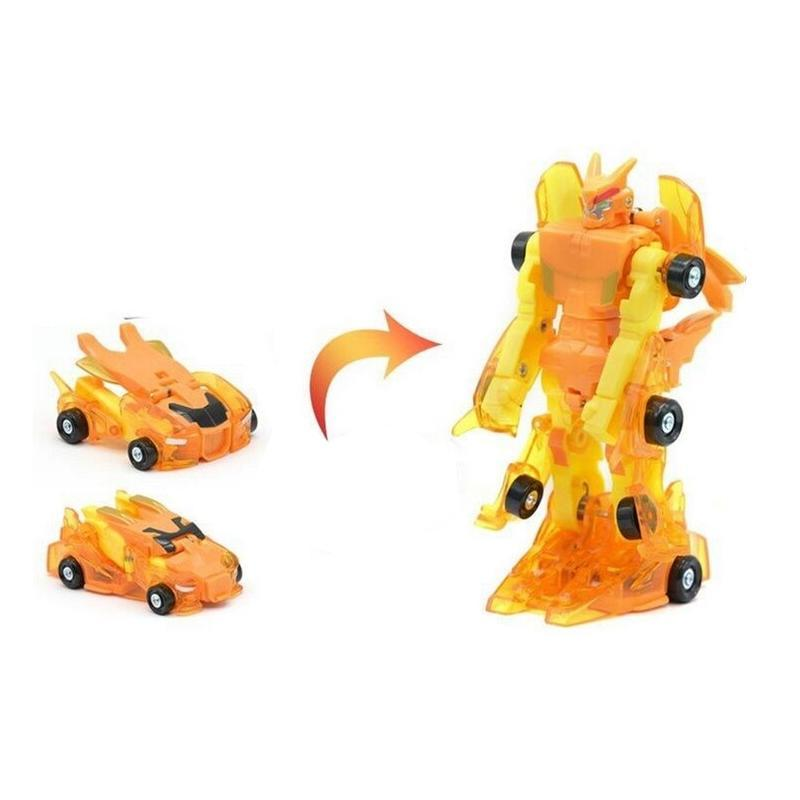 Magnetic Collision Deformation Car Toy