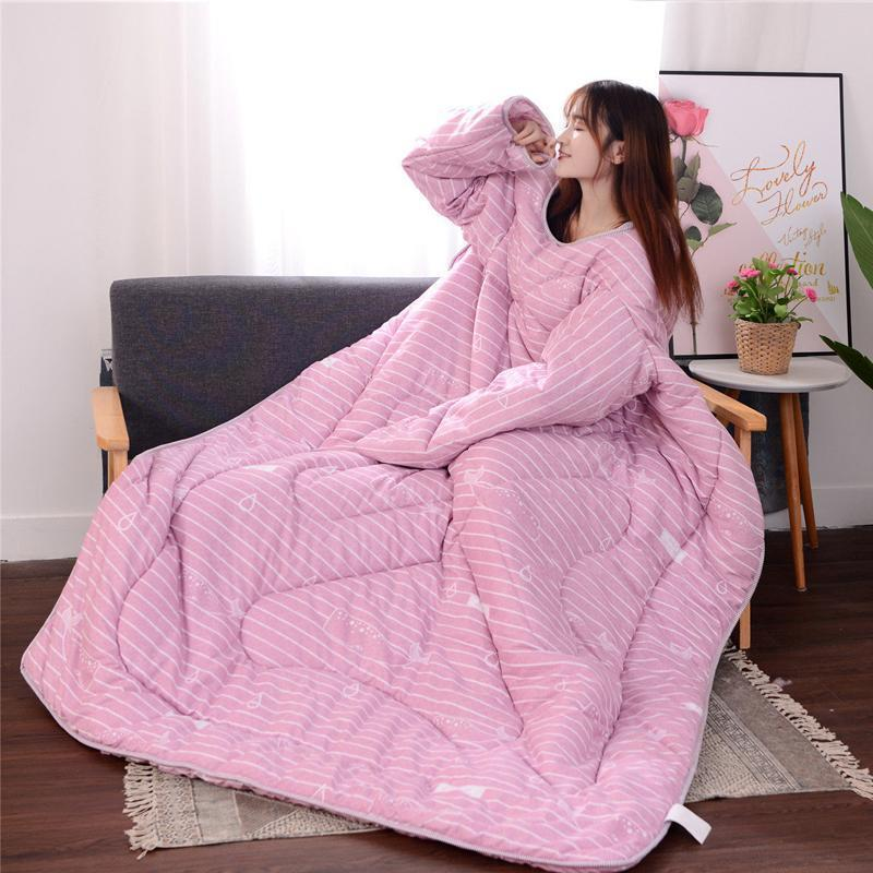 Winter Lazy Multifunctional Duvet with Sleeves