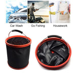 Load image into Gallery viewer, Outdoor Car Folding Bucket for Camping Fishing