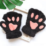 Load image into Gallery viewer, Paw Fingerless Gloves