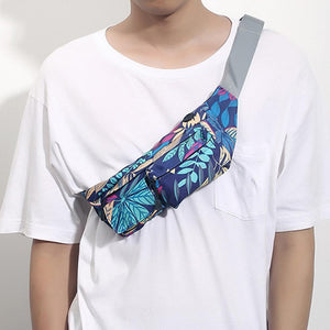Outdoor Printed Chest Bag