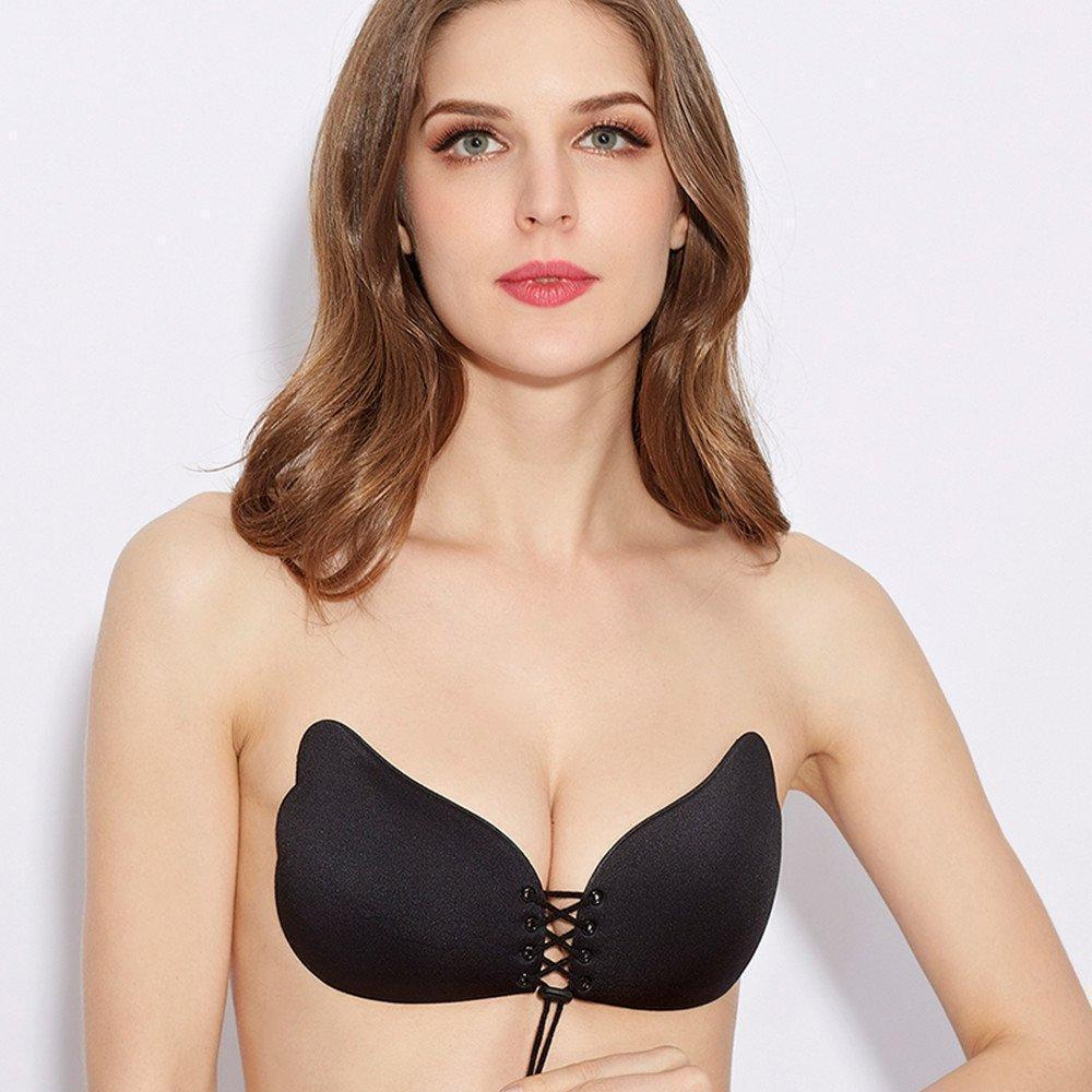 Strapless Push Up Self-adhesive Bra