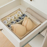 Load image into Gallery viewer, Linen Underwear Storage Box