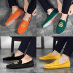 Load image into Gallery viewer, Men's Embroidered Loafers