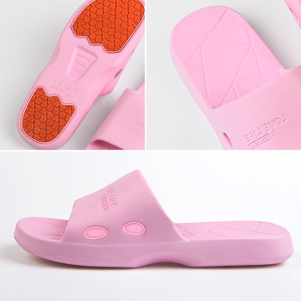 Non-slip cool house slippers