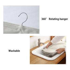 Wardrobe Foldable Hanging Organizer Underware Bra Socks Storage Bag