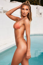 Load image into Gallery viewer, New Skinny Dipping Clear Strap Bikini