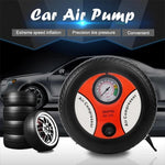 Load image into Gallery viewer, Car Tire Inflator Pump