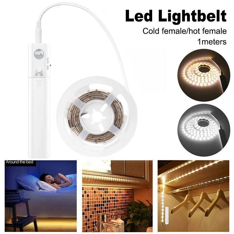 LED motion detector waterproof light belt