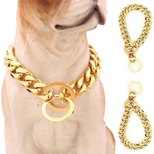 Titanium Steel Pet Dog Chain