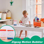 Load image into Gallery viewer, Zigzag Motion Bubbler