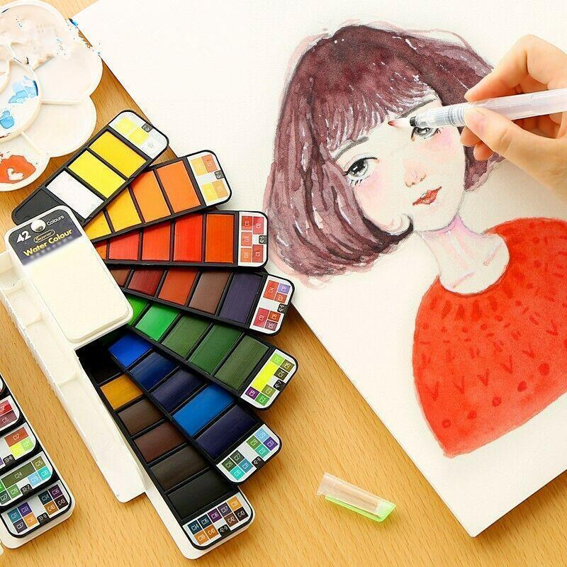 Solid Gouache Pigment Palette - let your creativity speak!