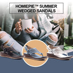 Load image into Gallery viewer, Summer Wedged Sandals
