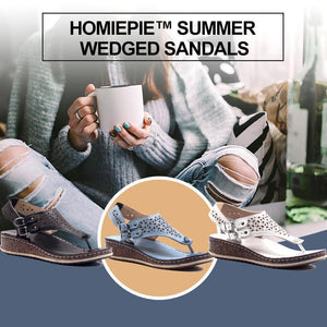 Summer Wedged Sandals
