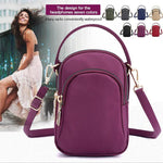Load image into Gallery viewer, Small colored shoulder bag for women